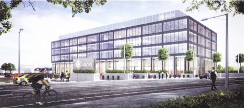 Visualisation of proposed Strathclyde Police headquarters