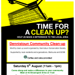 Clean Up Poster 2011-08-06