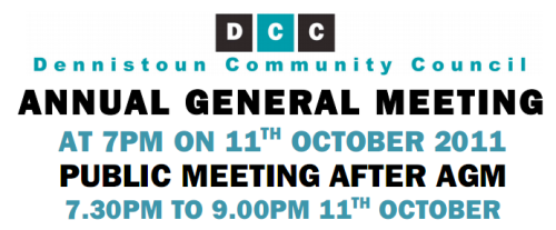 2011 AGM and Public Meeting