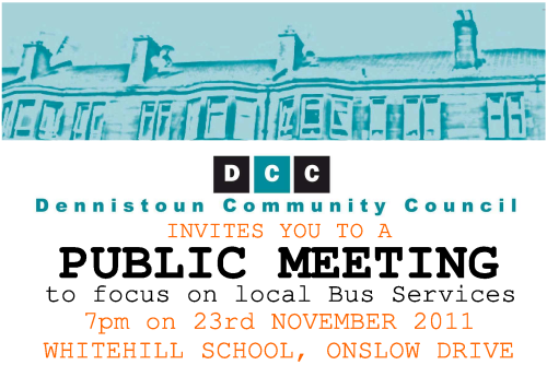 Public Meeting to Discuss Local Bus Services