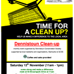 Clean Up Poster 2011-11-12