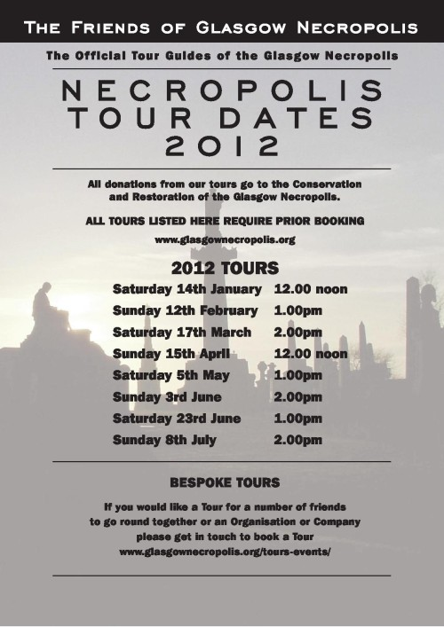 Necropolis Tour Dates 2012 Poster
