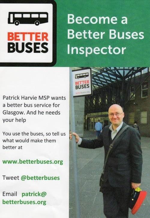 Better Buses Poster