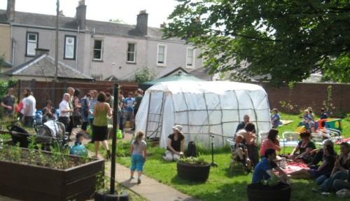 Dennistoun Diggers Community Garden