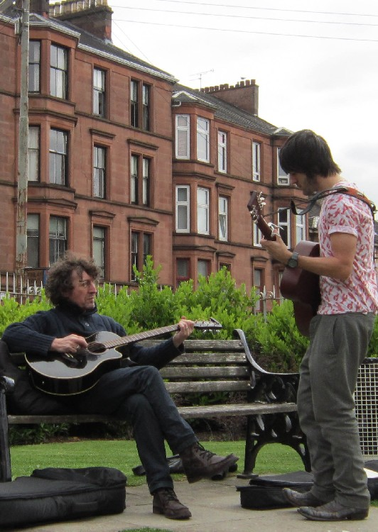 Dennistoun Buffalo Bill Square Big Lunch 2012 Music 01
