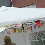 Dennistoun Buffalo Bill Square Big Lunch 2012 Paper Bunting 01
