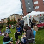 Dennistoun Buffalo Bill Square Big Lunch 2012 People 06
