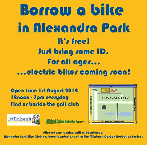 Alexandra Park Bike Club Information