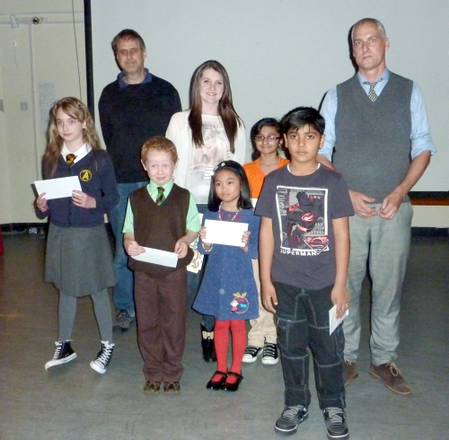 DCC 2012 Treasure Hunt Winners