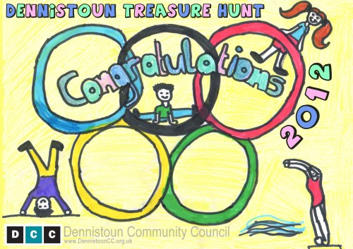 2012 Dennistoun Treasure Hunt