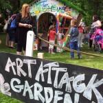 alexandra park festival 2013 art attack garden 1