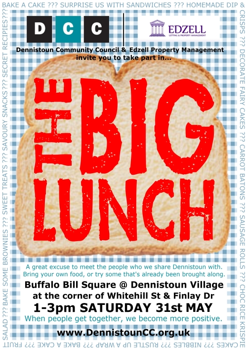 Dennistoun Big Lunch 2014