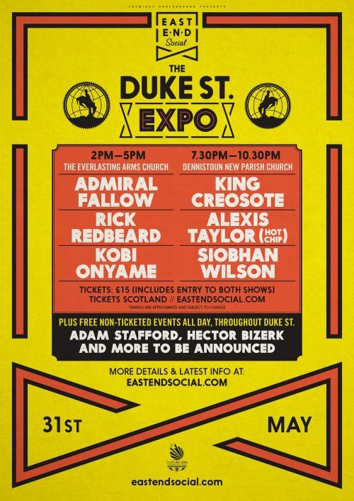 Duke Street Expo Poster