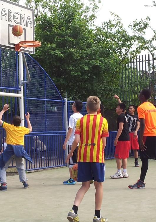 Alexandra Park Festival 2014 Basketball 01