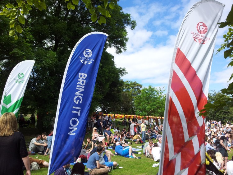 Alexandra Park Festival 2014 Commonwealth Games Flags 01