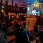Alexis Taylor (Hot Chip) at Dennistoun New Church 02