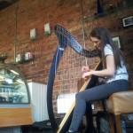 Ruth Mackay at Dennistoun Gils Coffee House 01