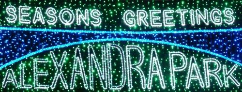 Alexandra Park Christmas Lights