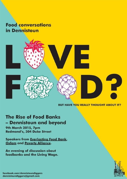 The Rise of Food Banks - Dennistoun and Beyond