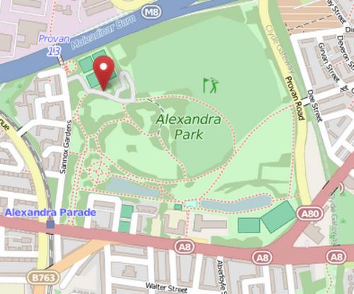 Alexandra Park Map