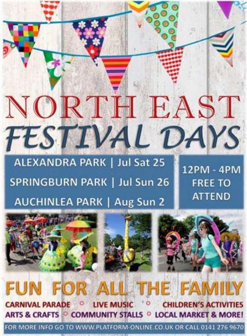 Alexandra Park Festival 2015 Poster