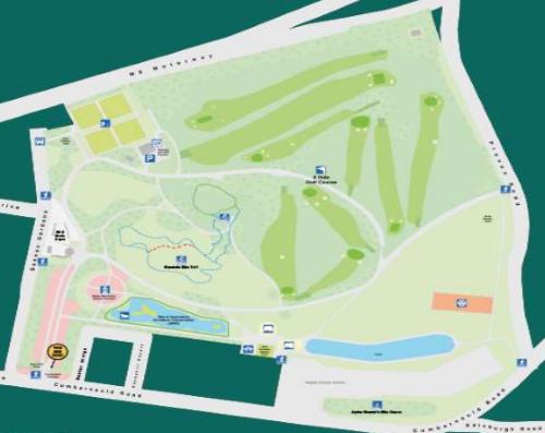Alexandra Park Plan