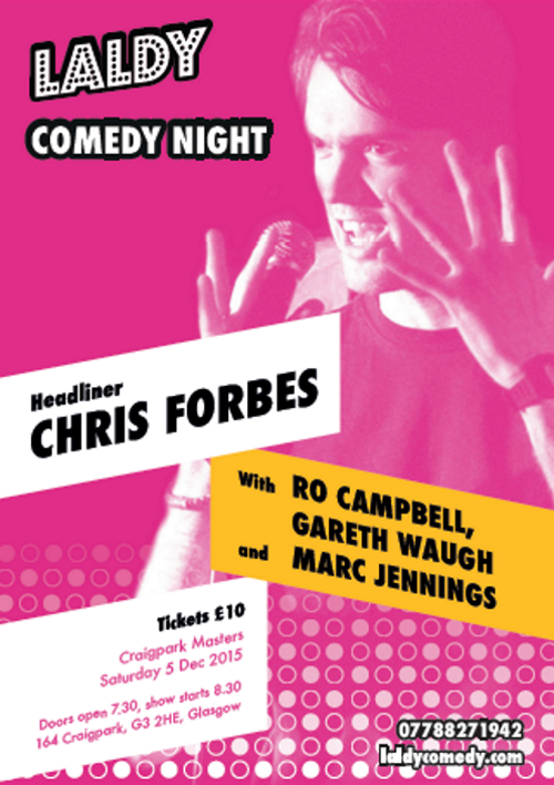 Laldy Comedy Night - 5th December 2015
