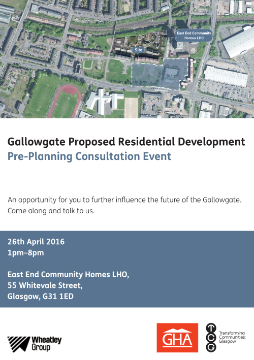 Gallowgate Proposed Residential Development