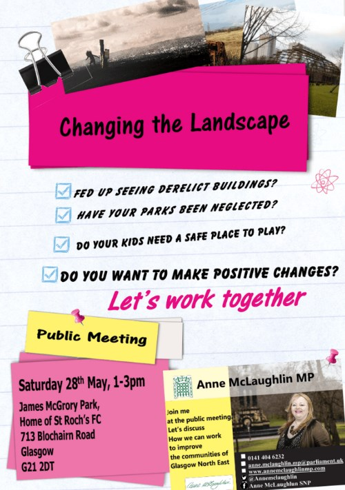 Changing The Landscape Flyer