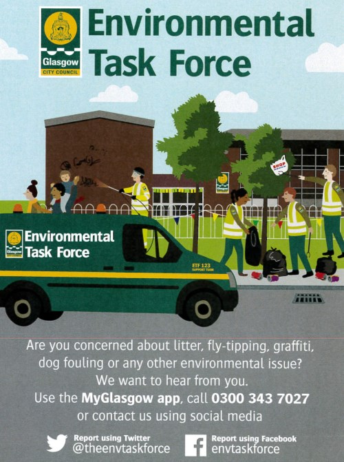 Environmental Task Force Poster