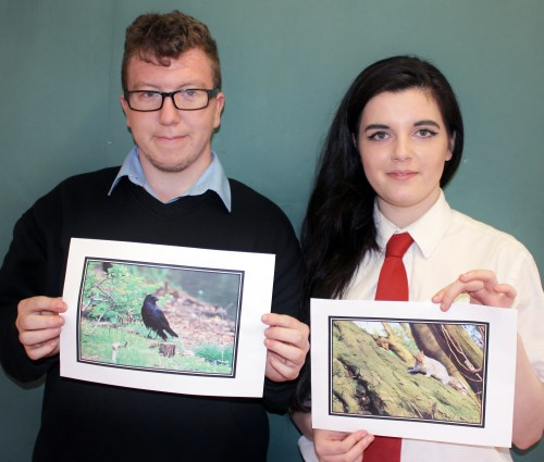 Wild Glasgow Photography Competition Winners Jordan Lyle and Holly Cuthbertson