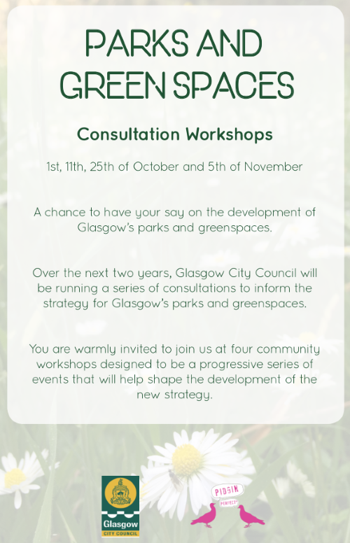 Glasgow Parks and Green Spaces Consulatation