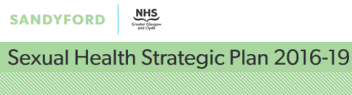Sexual Health Strategic Plan 2016-19