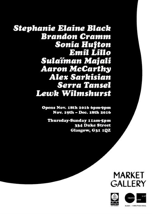 Market Gallery Exhibition Poster