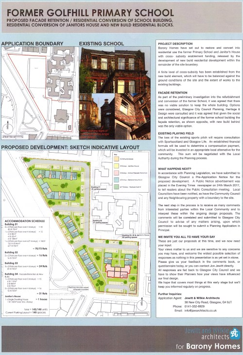 Former Golfhill Primary School Proposal Leaflet 2017-04-05