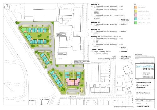 Former Golfhill Primary School Proposal - Buildings Plan