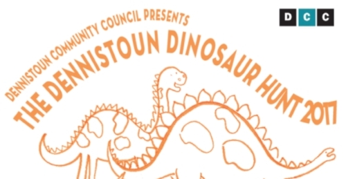 Dennistoun Dinosaur Hunt 2017