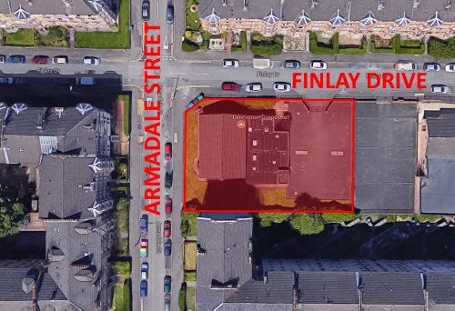 100 Finlay Drive - Aerial View of Site Location