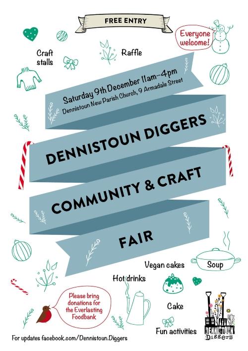 Dennistoun Diggers Community and Craft Fair 2017