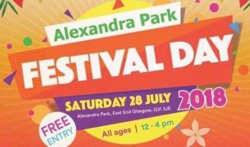 Alexandra Park Festival 2018