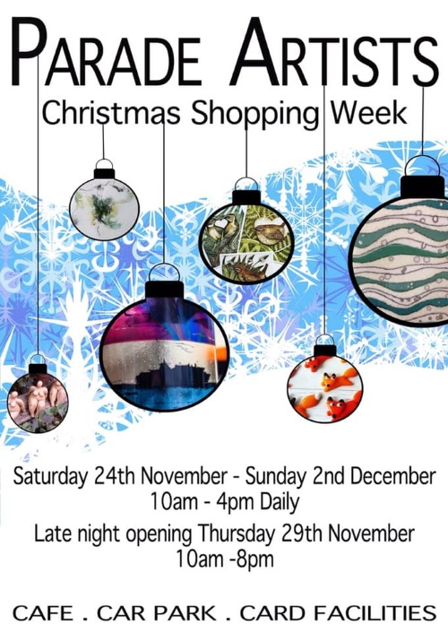 Parade Artists Christmas Shopping Week 2018