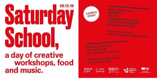 Saturday School Launch Event