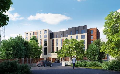 Birkenshaw Street Development - Visualisation from Birkenshaw Street looking South