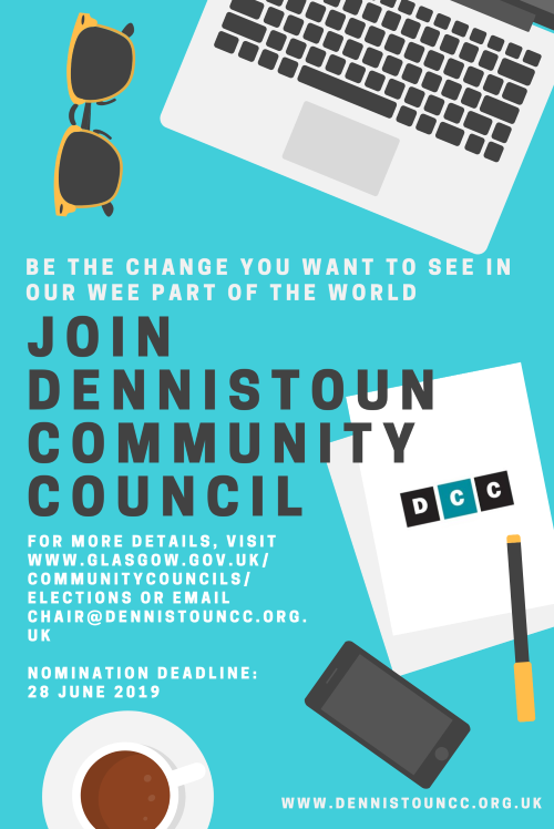 Join Dennistoun Community Council