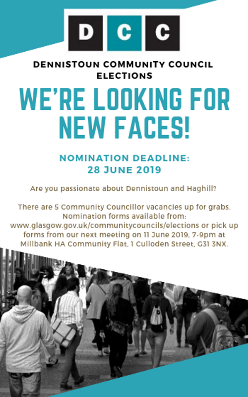 Dennistoun Community Council Vacancies