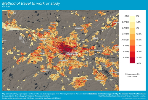 Travel To Work Or Study On Foot