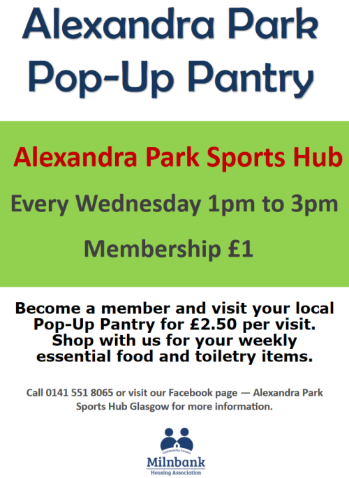 Alexandra Park Pop-up Pantry