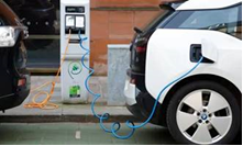 EV charging point on Wilson Street in Merchant City - view 1