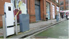 EV charging point on Wilson Street in Merchant City - view 2